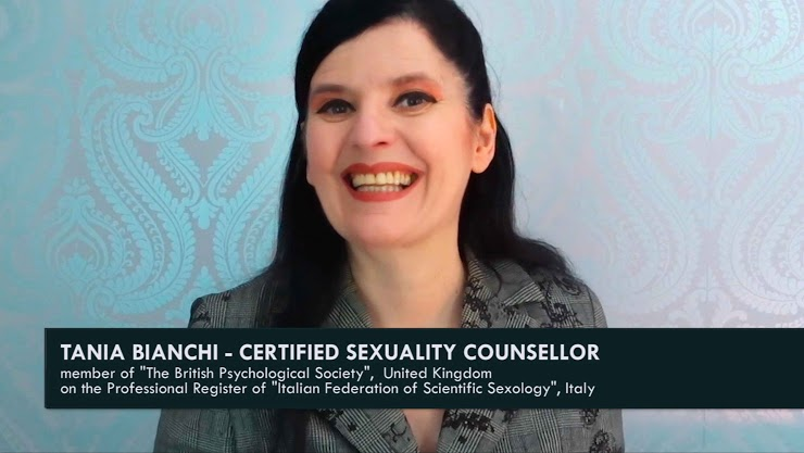 Tania Bianchi - international sexologist - expert sex education - sexuality counsellor.
